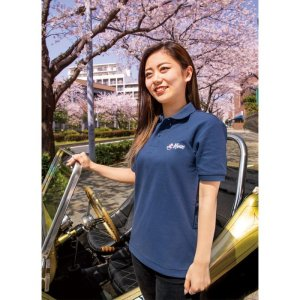 Photo: Sakura MOON Polo Shirt