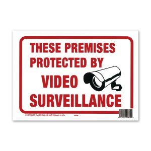 Photo: PROTECTED BY VIDEO SURVEILLANCE