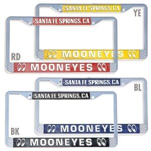 Photo: MOONEYES Santa Fe Springs License Frame