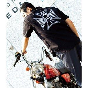 Photo: MOON Equipped Iron Cross Work Shirt