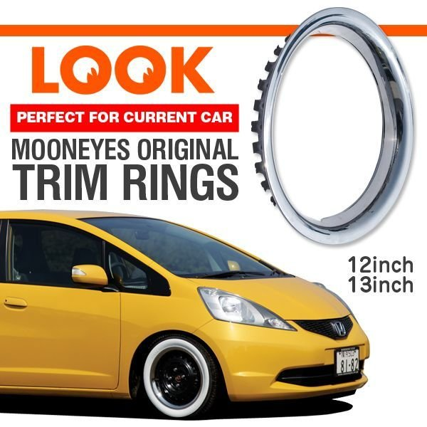 Photo1: Stainless Trim Ring 12inch / 13inch (1)