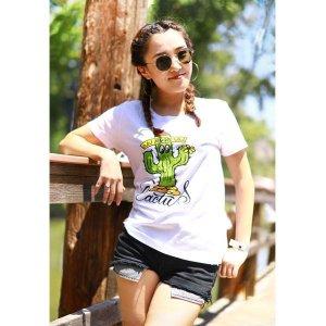 Photo: Ladies MOON Cactus T-shirt