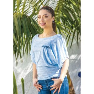 Photo: MOONEYES Ladies Dolman T-shirt